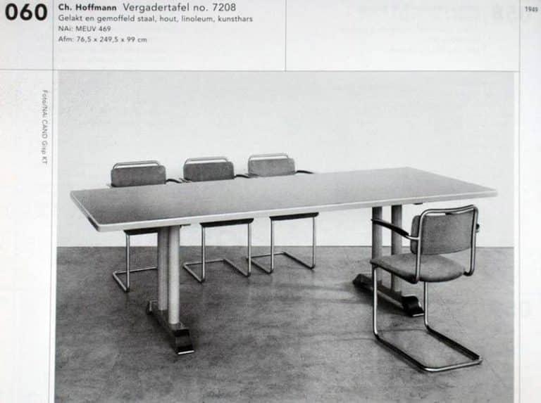 Gispen tafel 7208 dutch originals interieurhof alkmaar